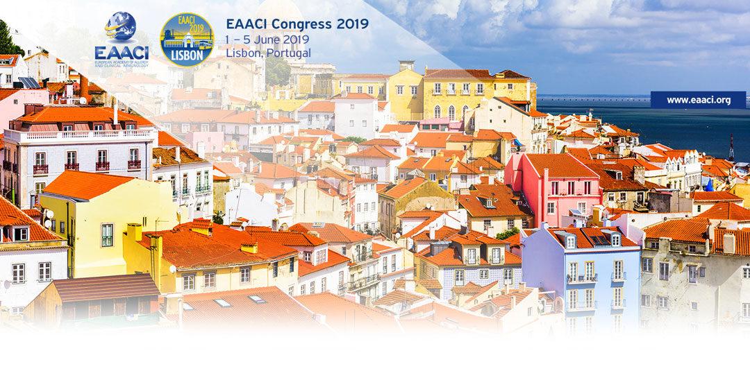 1. – 5. 7. 2019 se koná kongres EAACI v Lisabonu