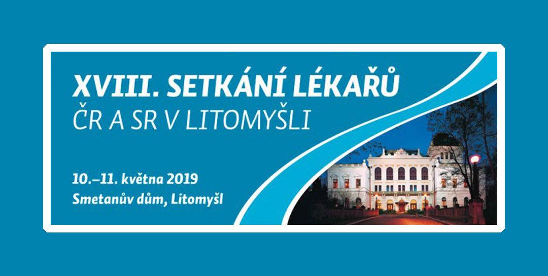 10. – 11. 5. 2019 — XVIII. Setkání lékařů ČR a SR v Litomyšli